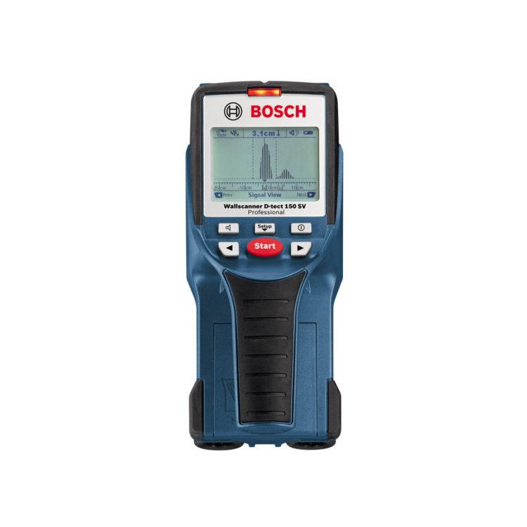 Veggskanner, Bosch D-tect 150