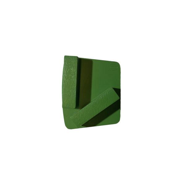 Diamantsegmenter, 100/120 grønn (pk á 9 stk)