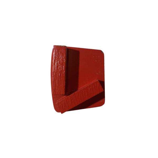Diamantsegmenter, 60/80 rød (pk á 9 stk)