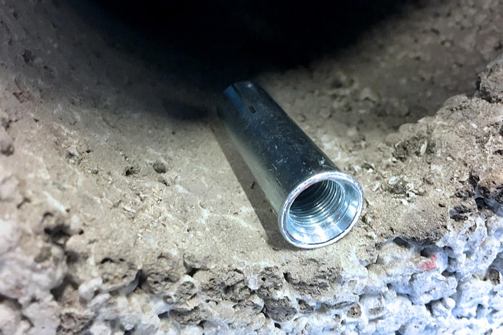 Du kan enkelt kjernebore i betong