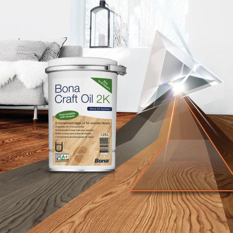 Bona Craft Oil 2K, gulvolje (clay)