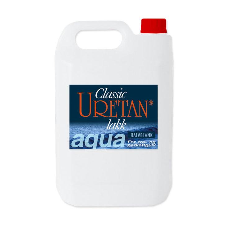 Classic Uretan Aqua, gulvlakk (halvblank)