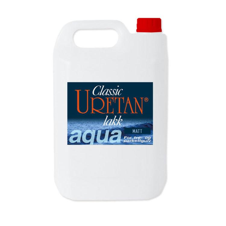 Classic Uretan Aqua, gulvlakk (matt)