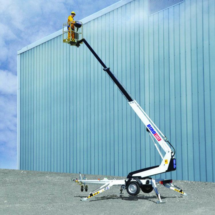 Leie av Teleskoplift 12m, Dino 120T