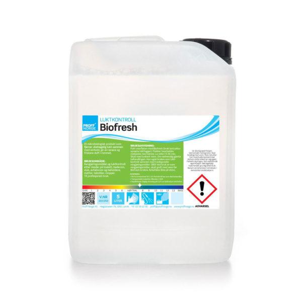Biofresh, vaskemiddel med luktkontroll