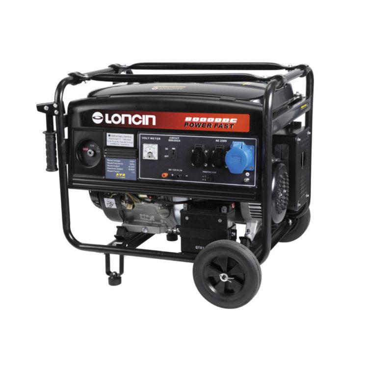 Strømaggregat, Loncin LC8000DDC