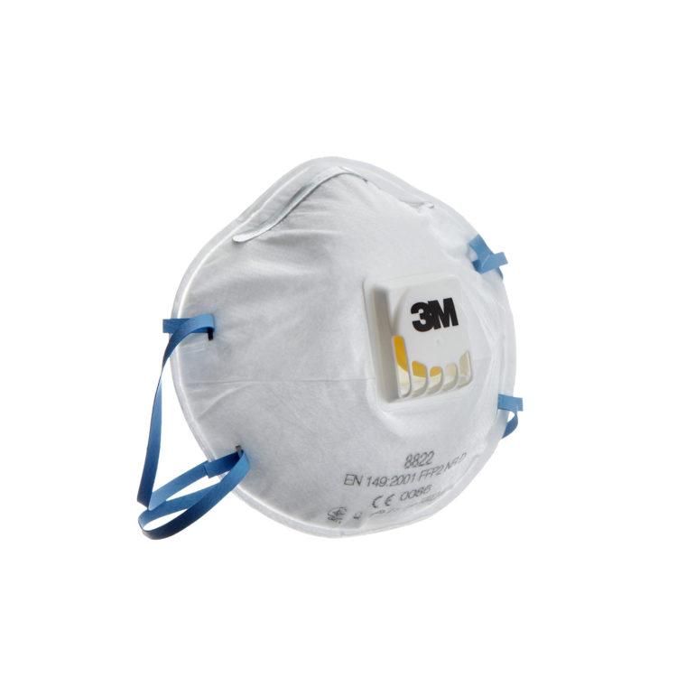 Støvmaske med ventil, 3M