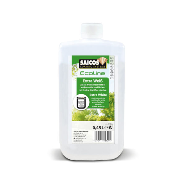 Saicos Ecoline pigment, ekstra hvit